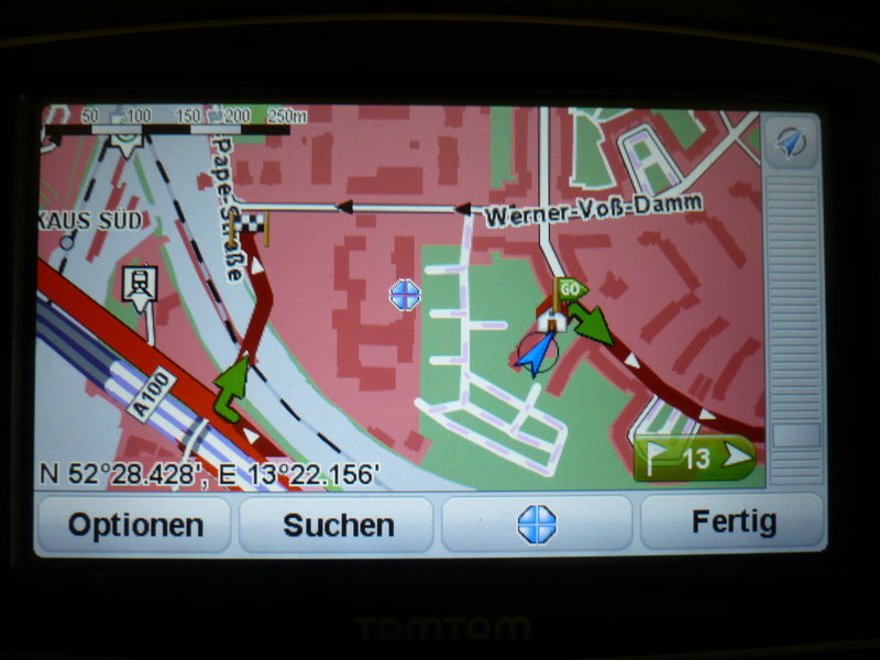 TomTom Detour Screenshot